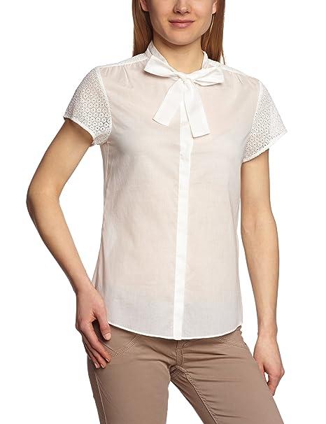 Turnover - Blusa de manga corta para mujer, talla 38, color naranja (summer