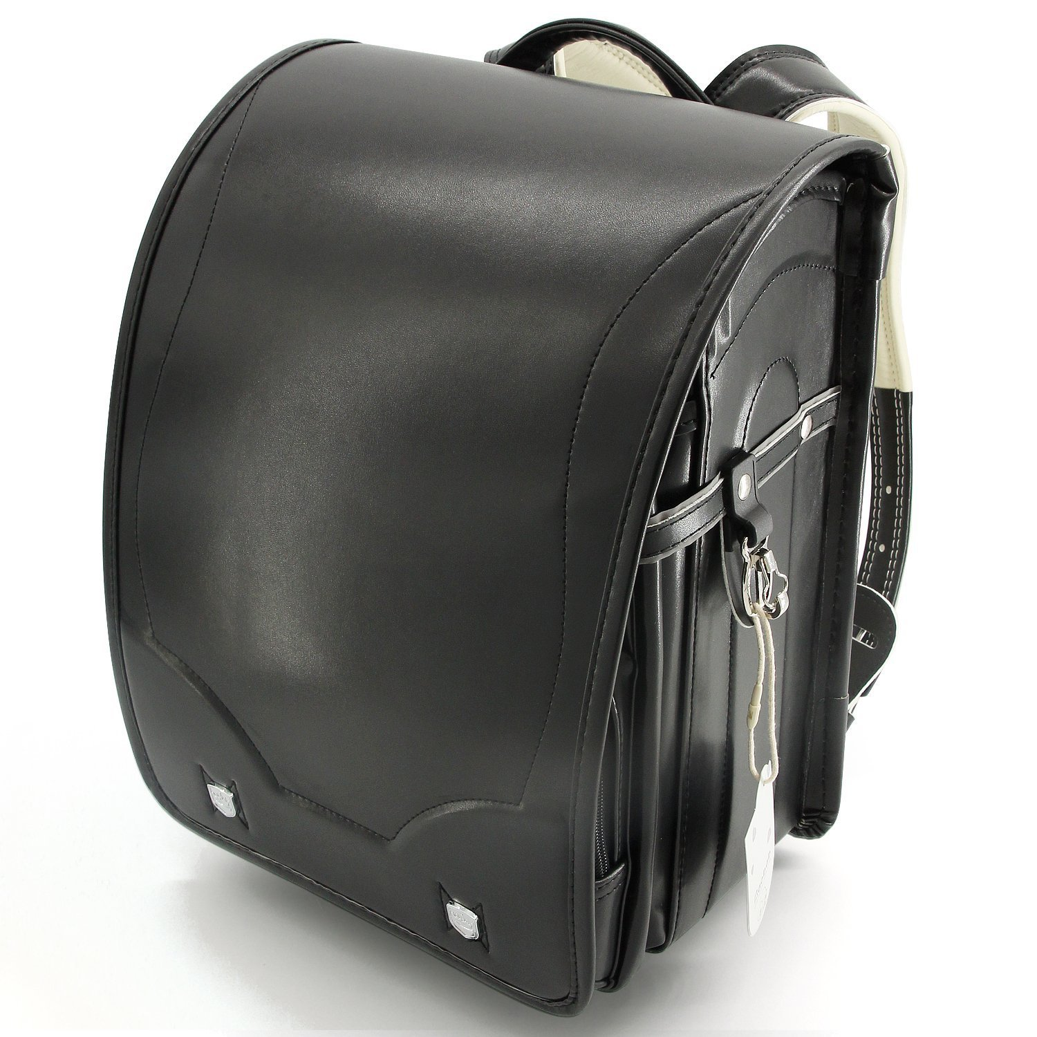 Ransel Randoseru upscale full-automatic Japanese schoolbags for girls and boys Black by Baobab's Wish