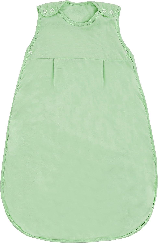 Slumbersac Saco de dormir 0,5 tog, talla de 0 meses a 10 a/ños color verde menta multicolor Talla:12-36 meses