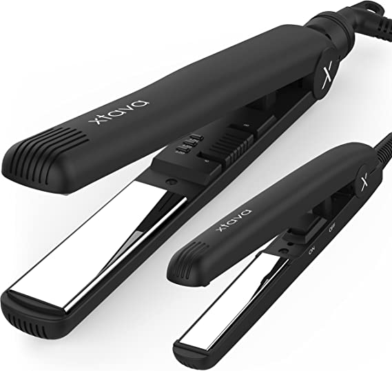 xtava Sleek and Shiny Flat Iron Toolkit