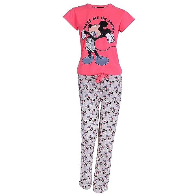 Disney - Mickey Mouse - Pijama - para mujer rosa Rosa