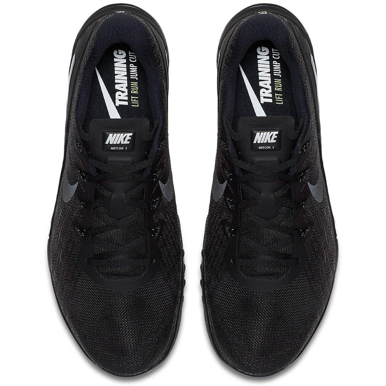 d6fcc538b4b9e Nike Metcon 3 Mens Trainers 852928 Sneakers Shoes (UK 6 US 7 EU 40, Black  Black 002)
