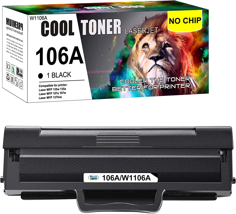 Cool Toner 2Packs Compatible for HP 80A CF280A 80X CF280X Toner Cartridge for HP Laserjet Pro 400 M401A M401D M401N M401DN M401DNE M401DW HP Laserjet Pro 400 MFP M425DN Laser Ink Printer Black