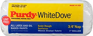 product image for Purdy 140672074 White Dove Roller Cover, 7 inch x 3/4 inch nap