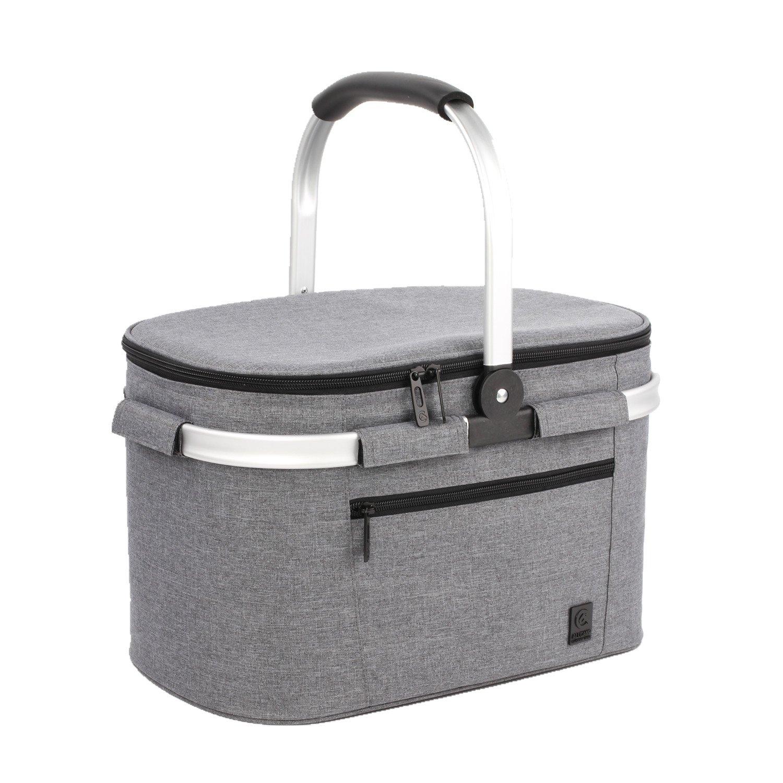 ALLCAMP Large Size Picnic Basket Cooler portable