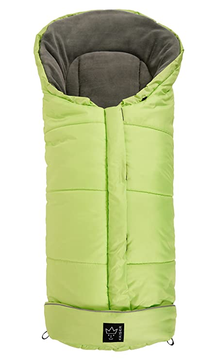 Kaiser Jooy - Saco de abrigo para cochecito de bebé Kiwi/Hellgrau