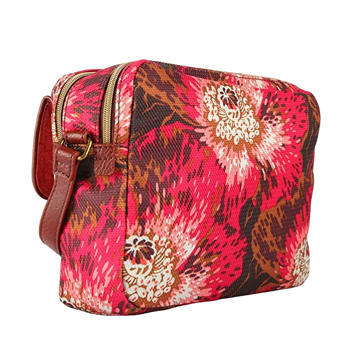 Oilily Winter Flowers S Shoulder Bag Wild Rose 8ASTg7DdJY