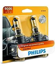Philips 9006 Standard Halogen Replacement Headlight Bulb, 2 Pack