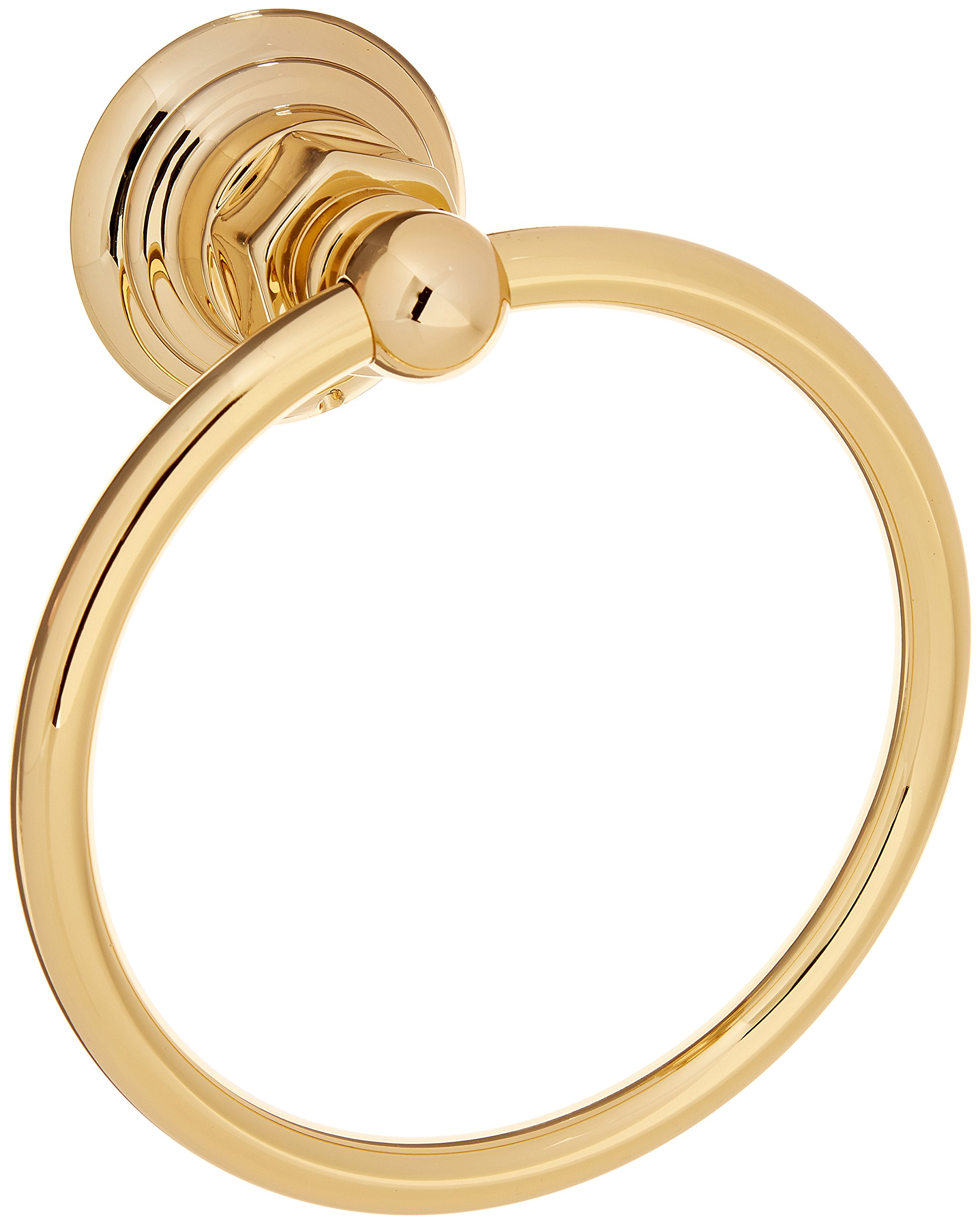 Rohl ROT4Ib Country Bath Towel Ring in Inca Brass by Rohl