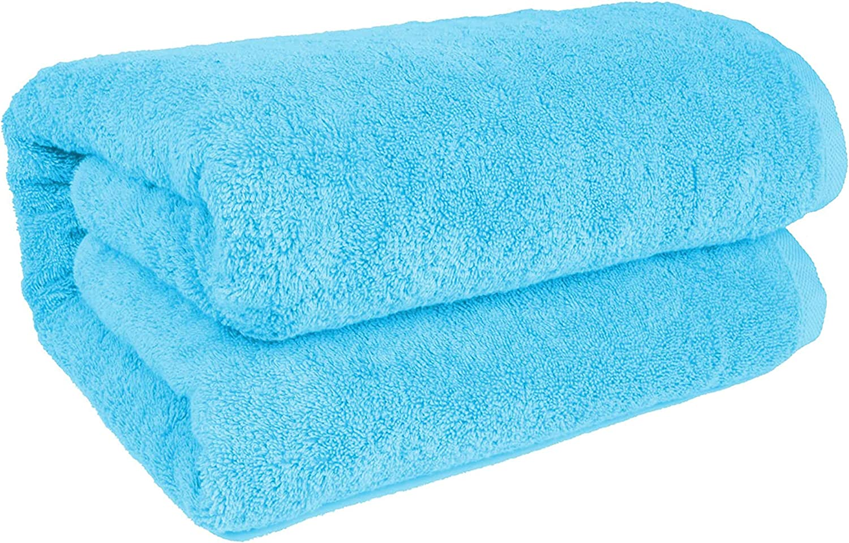 Pack of 3 Bath Sheets Jumbo  100/% Cotton Bath Towels Beach  Huge Size XXXL