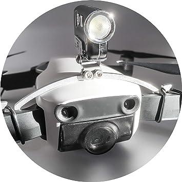 Robot de Drone Bottom Headlight/Noche Vuelo LED Luz (DJI Spark dron accesorios lámpara