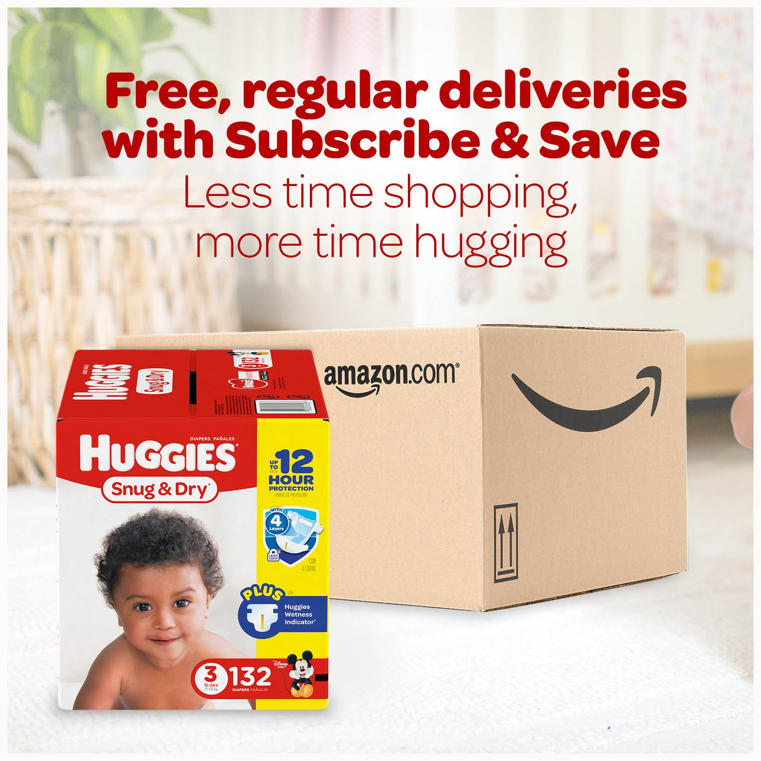 HUGGIES Snug & Dry Diapers, Size 5, 172 Count (Packaging May Vary) by Huggies (Image #11)