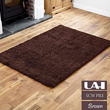 SMALL LARGE MEDIUM SIZE THICK PLAIN SOFT SHAGGY RUG NONSHED PILE MAT MODERN RUGS