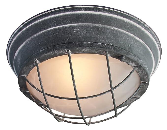 Plafoniere Vintage Da Parete : Lampada da parete soffitto vintage ø cm stile industriale con