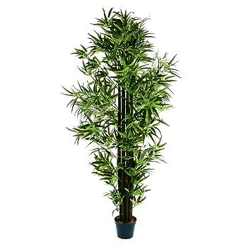 Amazon De Kunstlicher Bambus Baum Bambus Busch Kunstpflanze