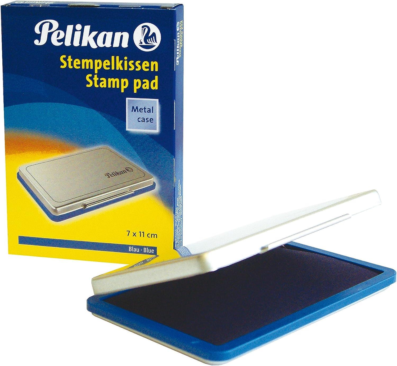 Pelikan Stempelkissen 7 x 5 cm Stempel getränkt Metall Neu Stempelzubehör Gr 3