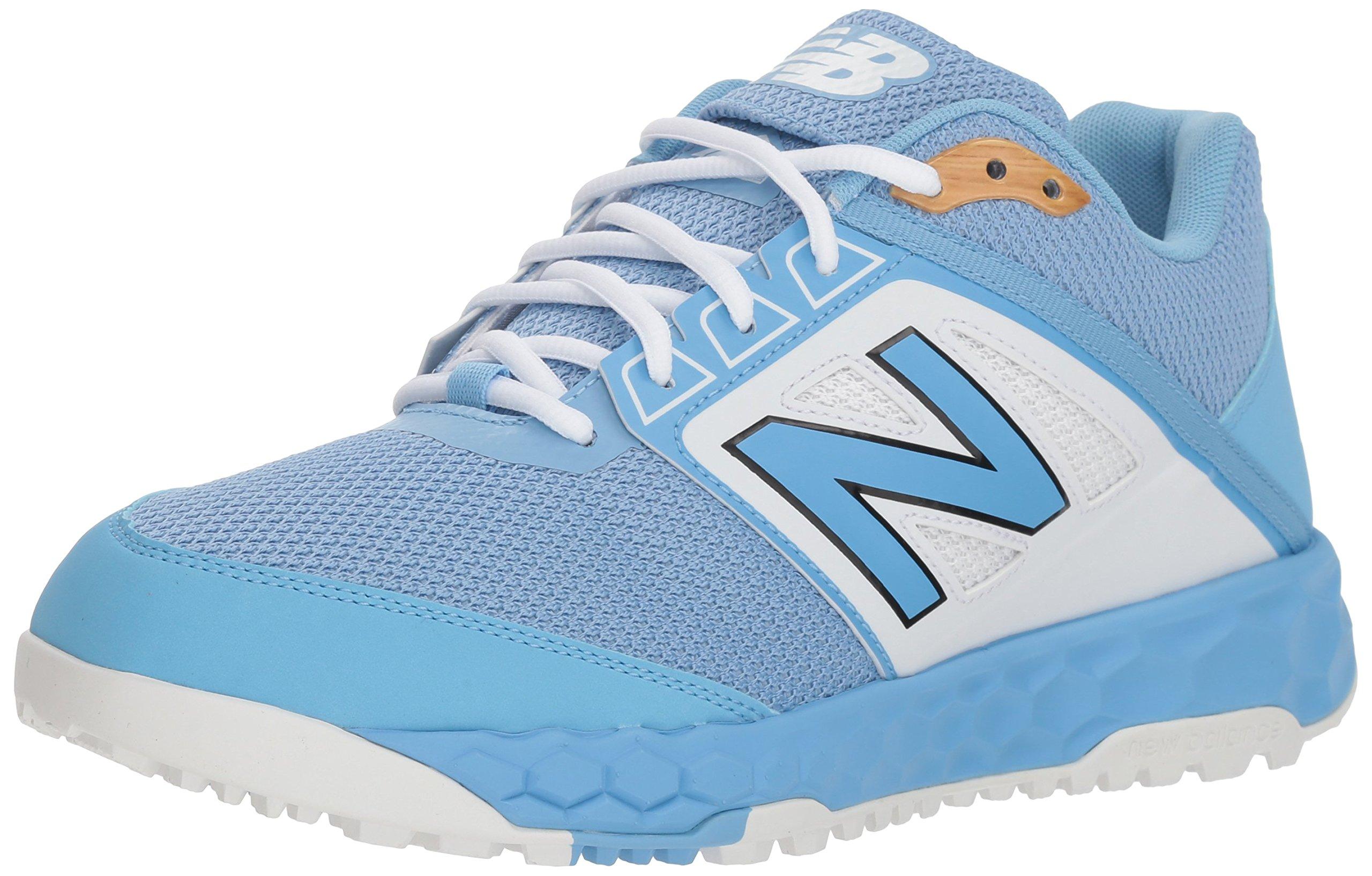 New Balance Men's 3000v4 Turf Baseball Shoe, Light Blue, 5 D US by New Balance (Image #1)