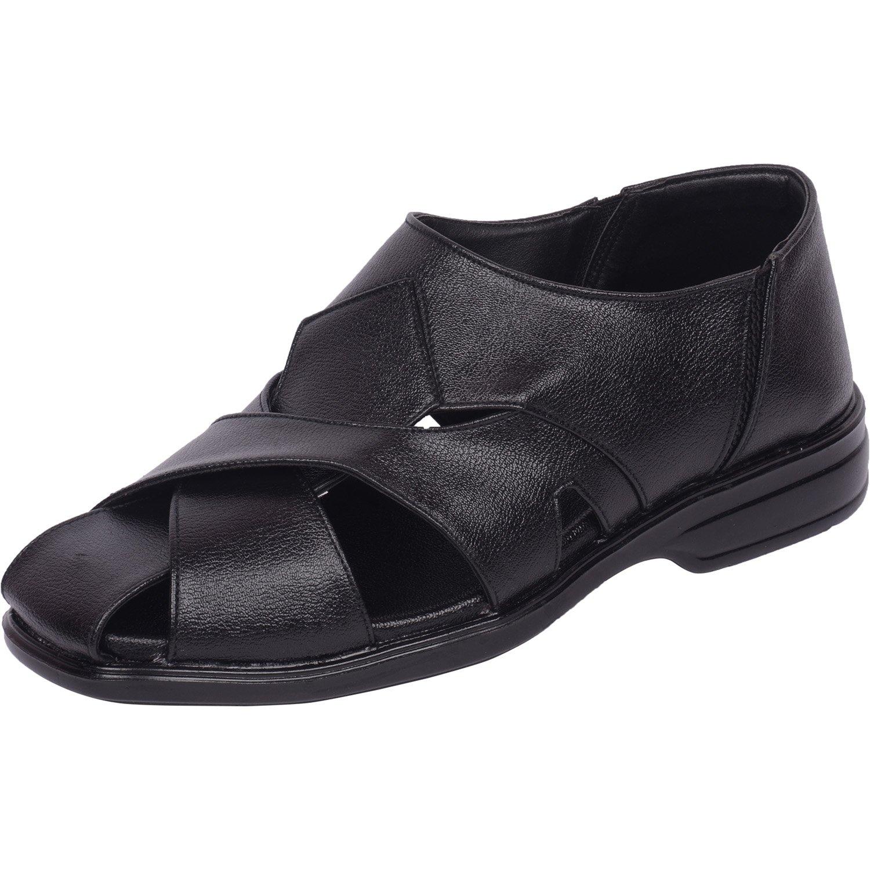 Vonzo Men schwarz Schuhes Slip On Casual Sandale Schuhes schwarz 702 992488