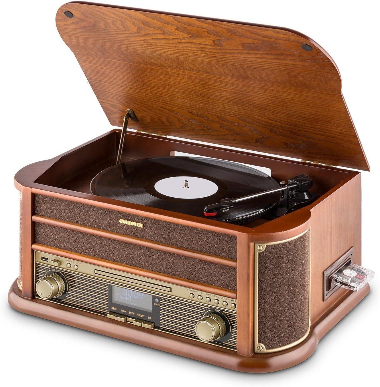 Auna Belle Epoque 1908 Equipo estéreo: Amazon.es: Electrónica
