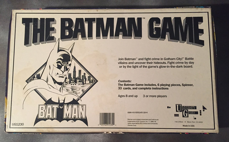 University Games 50th Anniversary Edition The Batman Game SG/_B000BRSV1W/_US