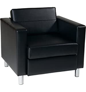 Amazon.com: AVE SIX Pacific Vinyl Loveseat with Spring Seats ...