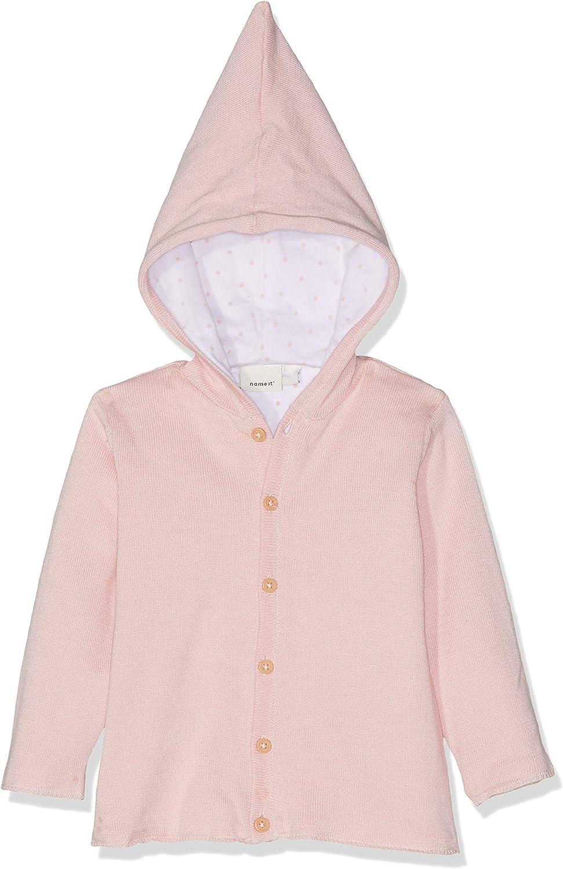 NAME IT Unisex Baby Nbndesil Ls Knit Jacket Jacke
