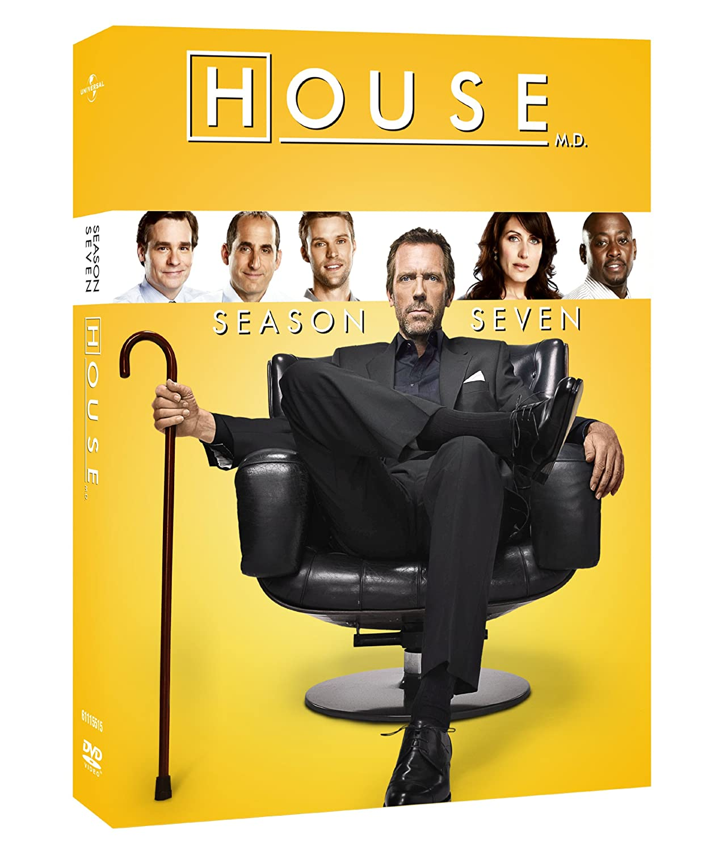 House: The Complete Seventh Season Hugh Laurie Lisa Edelstein Olivia Wilde Omar Epps