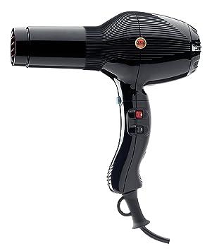 Gamma Piu 5555 - Secador de pelo, color negro: Amazon.es: Salud y cuidado personal