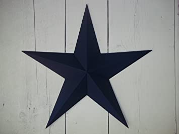 Heavy Duty Metal Star 10u0026quot; Painted Navy Blue . These Metal Stars Are A  Great