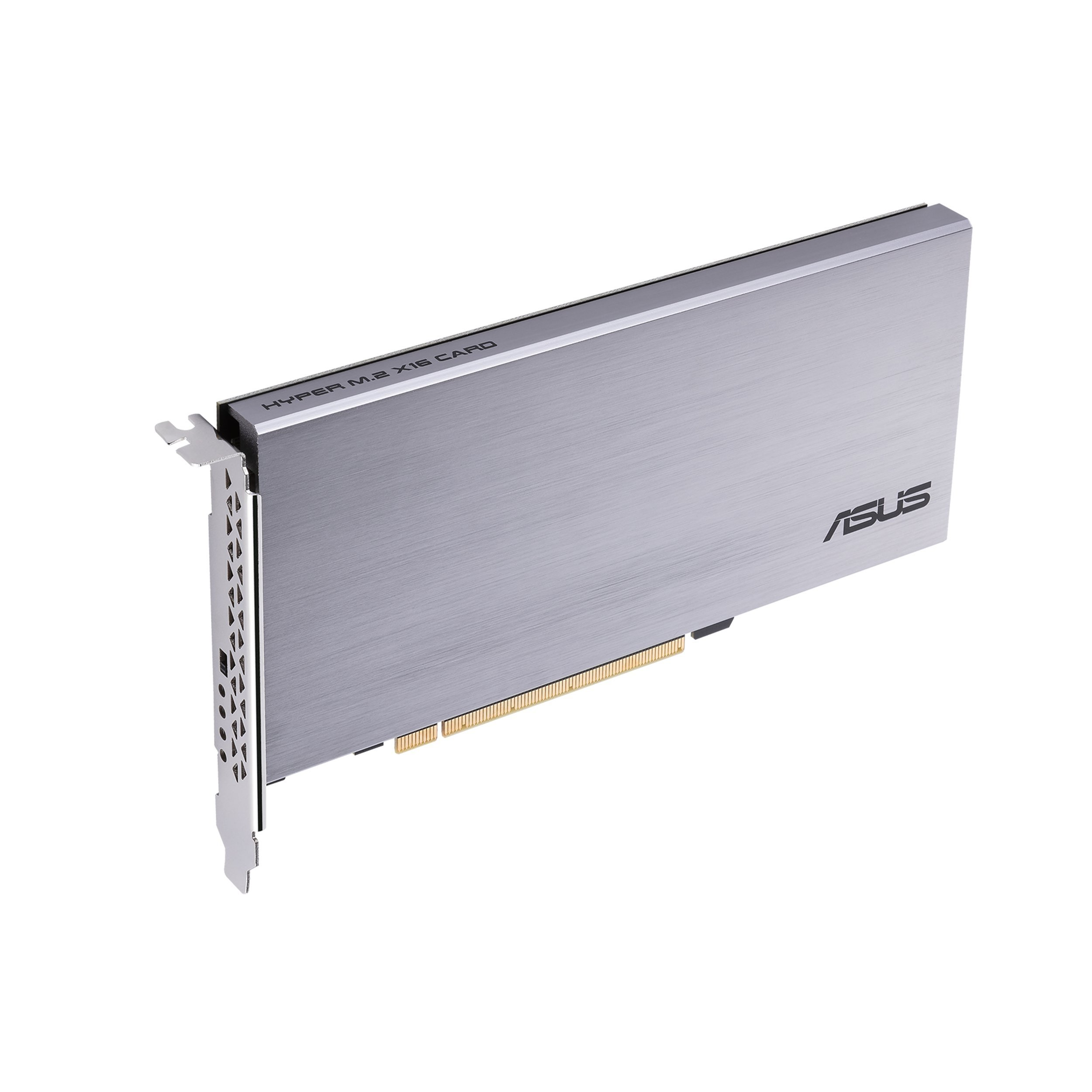 ASUS Hyper M.2 x16 Card Expansion NV Me M.2 drives and speed up to 128Gbps Components by Asus (Image #1)