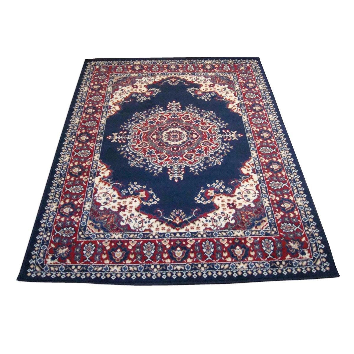 WEBTAPPETI Klassisch Teppich Orient Top Preis Guenstig Teppich PERSIAN 4480-BLU cm.180x270