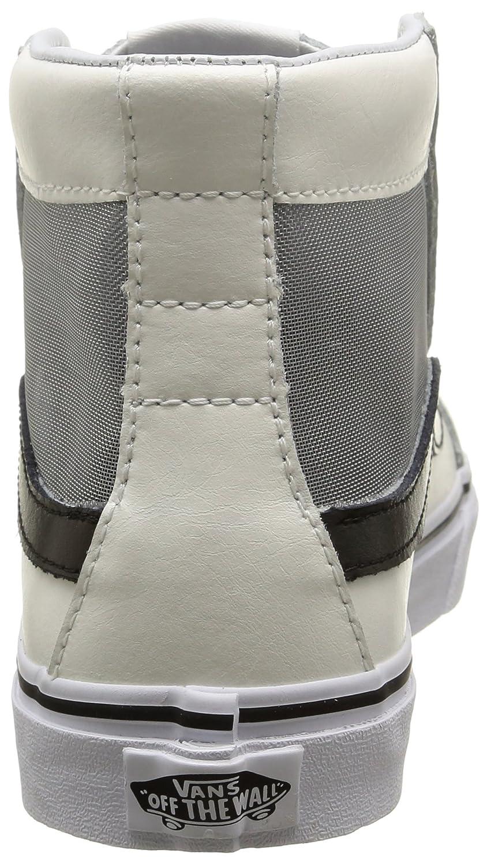 42df2877782 Zapatillas de skate Vans Unisex Sk-8Hi Slim Cutout (Mesh) Blanco negro