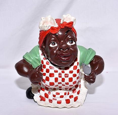 Amazon.com: Figura decorativa de cocinero de cocinero de ...