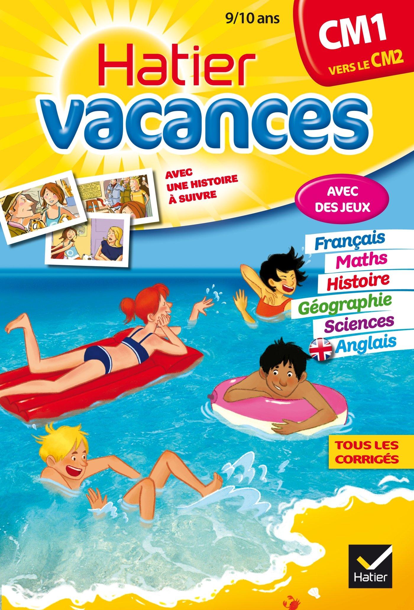 cahier de vacances français cm1