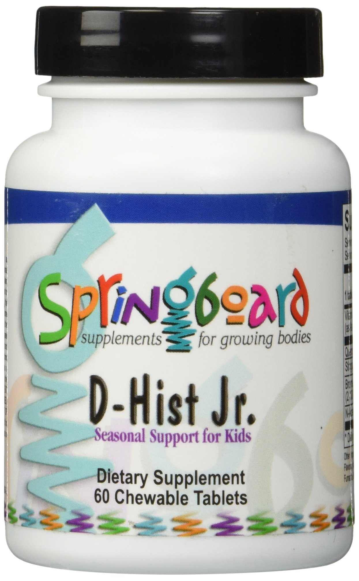 Ortho Molecular Products D-Hist JR Tablets, 60 Count