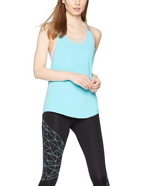 good reputation hot sale moderate cost Amazon Brand - Iris & Lilly Women's Double Layer Sports Shirt