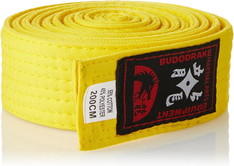 taekwondo Cintur/ón amarillo de k/árate judo
