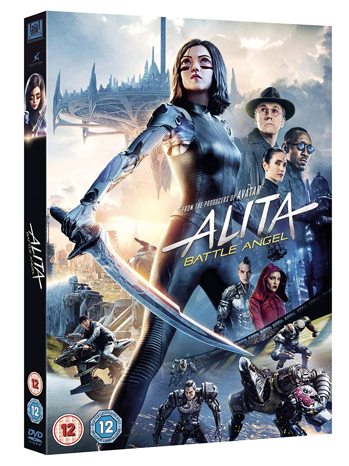 Alita: Battle Angel [ DVD ] [2019]: Amazon co uk: Rosa