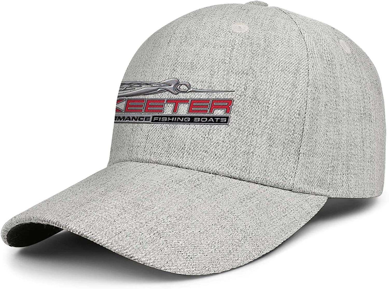 Skeeter-Performance-Bass Adjustable Baseball Cap Wool Strapback Dad Hat Vintage Unconstructed Trucker Hat