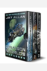 Crimson Worlds Refugees: The First Trilogy Kindle Edition