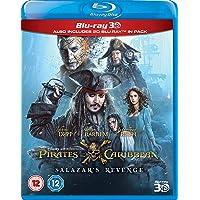 Pirates of the Caribbean: Salazar's Revenge [Blu-ray + Blu-ray 3D]