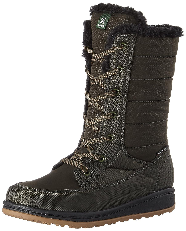 Kamik Women's Bailee Snow Boots, Khaki, 7 M US NK2160