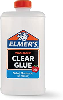 Elmers 32 oz. Washable Clear Liquid School Glue