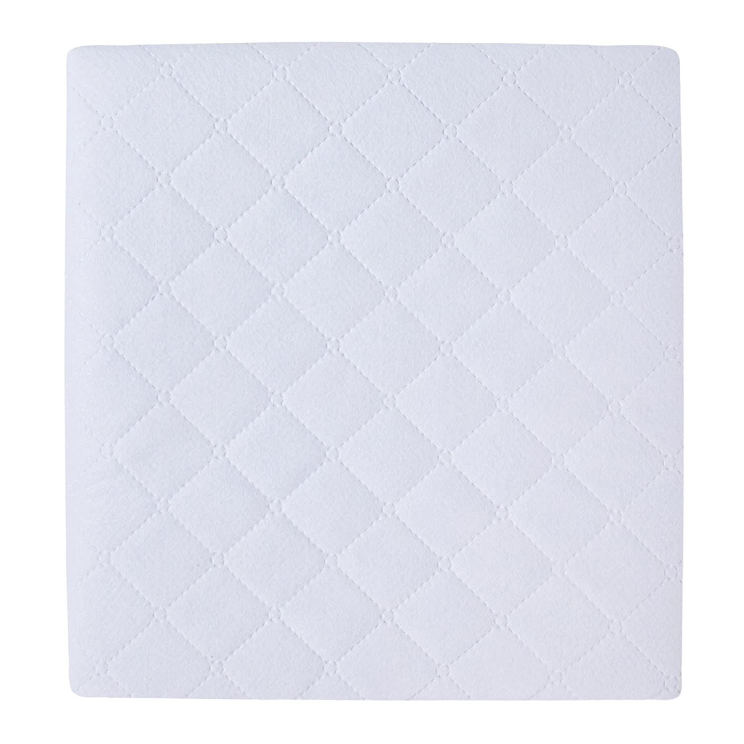 Solid White One Size Carters 2 Piece Protector Pad