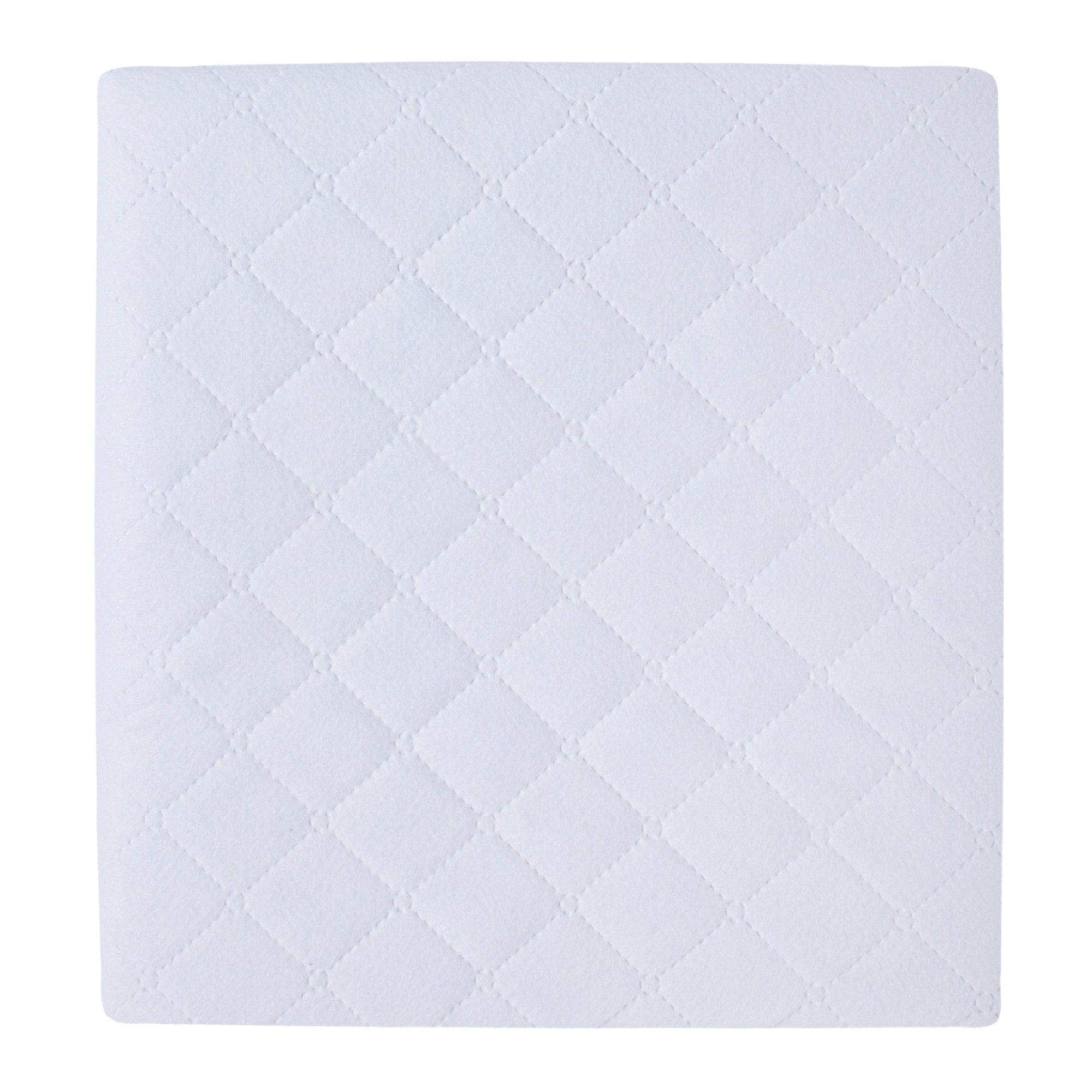 Carter's 2 Piece Protector Pad, Solid White, One Size by Carter's