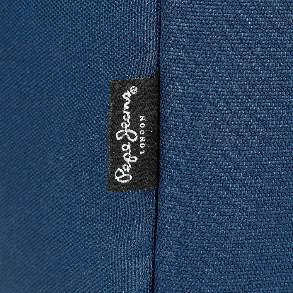 42 cm Pepe Jeans Beckers Malet/ín Azul 15.25 litros