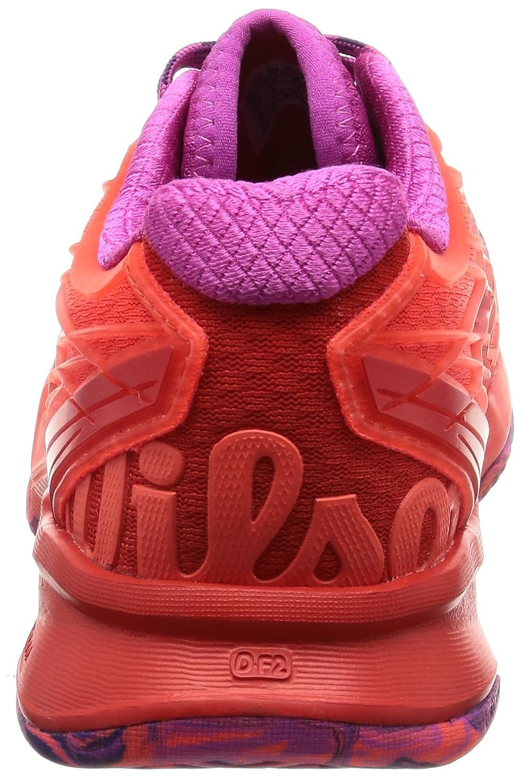 Wilson Kaos B(M) Womens Tennis Shoe B01K5IQY9W 9 B(M) Kaos US|Fiery Coal/Fiery Red/Rose 7d13a7
