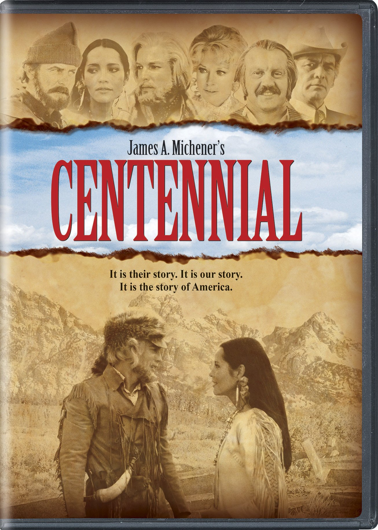 DVD : Centennial: The Complete Series (Boxed Set, Snap Case, 6 Disc)