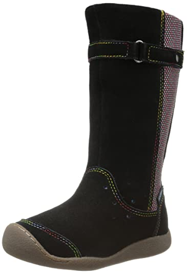 Keen PUNKY HIGH BOOT Bottes Chaussures pour fille Loisirs Outdoor Noir - Noir - Black/Alaska Blue 3dr274,