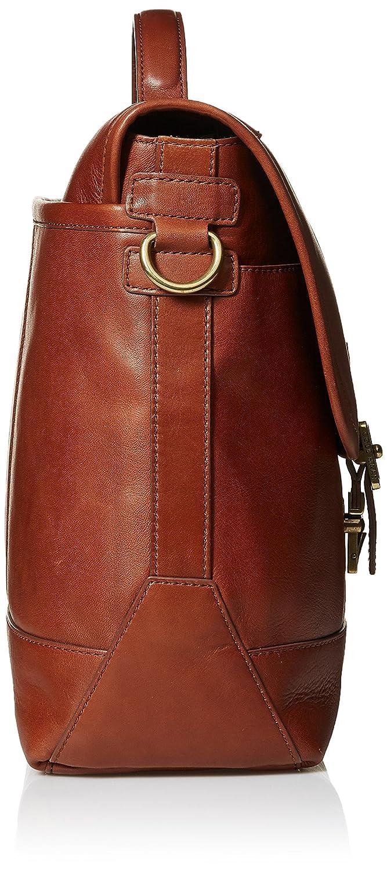 7e5b49f93 Amazon.com: Cole Haan Men's Van Buren Leather Briefenger, British Tan:  Clothing